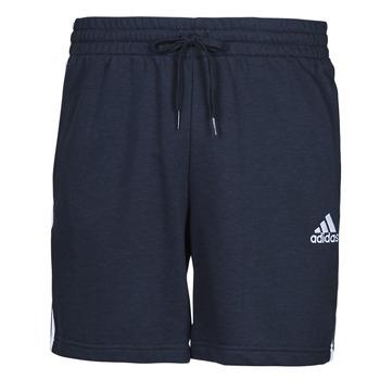 衣服 男士 短裤&百慕大短裤 adidas Performance 阿迪达斯运动训练 M 3S FT SHO 蓝色