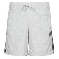 衣服 男士 短裤&百慕大短裤 adidas Performance 阿迪达斯运动训练 M 3S FT SHO 灰色