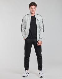衣服 男士 厚套装 adidas Performance 阿迪达斯运动训练 M 3S FT TT TS 灰色