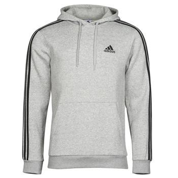 衣服 男士 卫衣 adidas Performance 阿迪达斯运动训练 M 3S FL HD 灰色