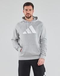 衣服 男士 卫衣 adidas Performance 阿迪达斯运动训练 M FI Hood 灰色