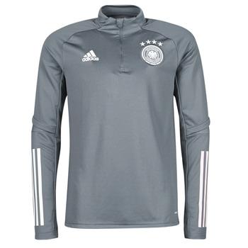 衣服 男士 卫衣 adidas Performance 阿迪达斯运动训练 DFB TR TOP 灰色