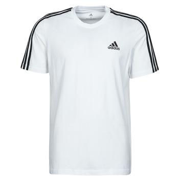 衣服 男士 短袖体恤 adidas Performance 阿迪达斯运动训练 M 3S SJ T 白色