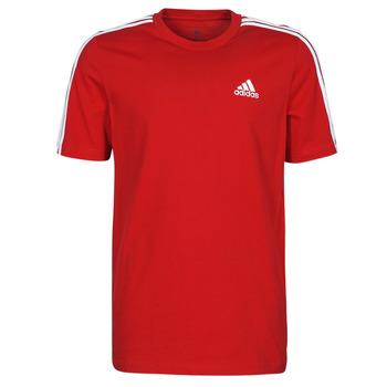 衣服 男士 短袖体恤 adidas Performance 阿迪达斯运动训练 M 3S SJ T 红色