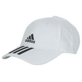 纺织配件 鸭舌帽 adidas Performance 阿迪达斯运动训练 BBALL 3S CAP CT 白色