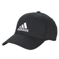 纺织配件 鸭舌帽 adidas Performance 阿迪达斯运动训练 BBALL CAP COT 黑色