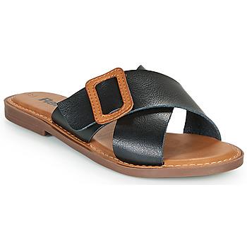 鞋子 女士 休闲凉拖/沙滩鞋 Refresh TRAFFA 黑色