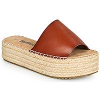 鞋子 女士 休闲凉拖/沙滩鞋 Refresh ETINNA 驼色