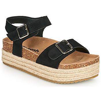 鞋子 女士 凉鞋 Refresh KINNA 黑色