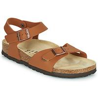 鞋子 女孩 凉鞋 Birkenstock 勃肯 RIO 棕色