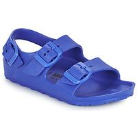 鞋子 男孩 凉鞋 Birkenstock 勃肯 MILANO EVA 蓝色