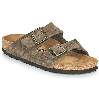鞋子 女士 休闲凉拖/沙滩鞋 Birkenstock 勃肯 ARIZONA 棕色