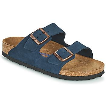 鞋子 女士 休闲凉拖/沙滩鞋 Birkenstock 勃肯 ARIZONA SFB 蓝色