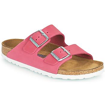鞋子 女士 休闲凉拖/沙滩鞋 Birkenstock 勃肯 ARIZONA SFB 玫瑰色