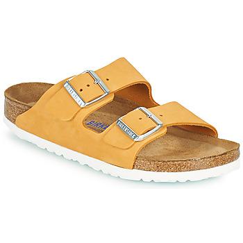 鞋子 女士 休闲凉拖/沙滩鞋 Birkenstock 勃肯 ARIZONA SFB 橙色