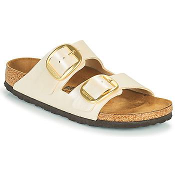 鞋子 女士 休闲凉拖/沙滩鞋 Birkenstock 勃肯 ARIZONA BIG BUCKLE 白色