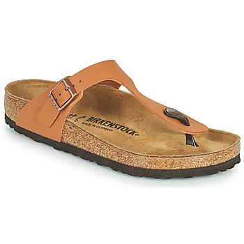 鞋子 女士 人字拖 Birkenstock 勃肯 GIZEH 棕色