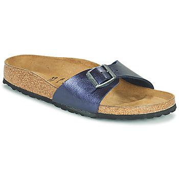 鞋子 女士 休闲凉拖/沙滩鞋 Birkenstock 勃肯 MADRID 蓝色