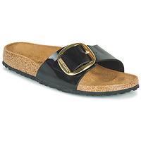鞋子 女士 休闲凉拖/沙滩鞋 Birkenstock 勃肯 MADRID BIG BUCKLE 黑色