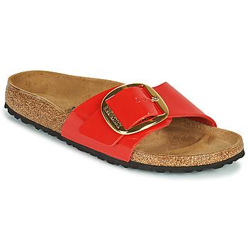 鞋子 女士 休闲凉拖/沙滩鞋 Birkenstock 勃肯 MADRID BIG BUCKLE 红色