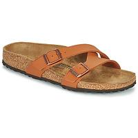 鞋子 女士 休闲凉拖/沙滩鞋 Birkenstock 勃肯 YAO BALANCE 棕色