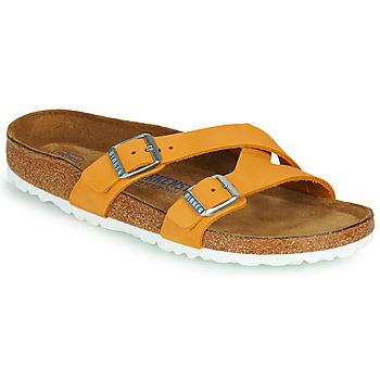 鞋子 女士 休闲凉拖/沙滩鞋 Birkenstock 勃肯 YAO BALANCE SFB 橙色