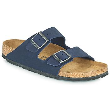 鞋子 男士 休闲凉拖/沙滩鞋 Birkenstock 勃肯 ARIZONA 蓝色
