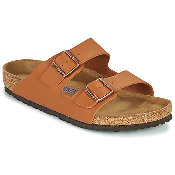 鞋子 男士 休闲凉拖/沙滩鞋 Birkenstock 勃肯 ARIZONA SFB 棕色