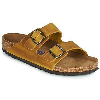 鞋子 男士 休闲凉拖/沙滩鞋 Birkenstock 勃肯 ARIZONA SFB 黄色