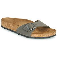 鞋子 男士 休闲凉拖/沙滩鞋 Birkenstock 勃肯 MADRID 灰色