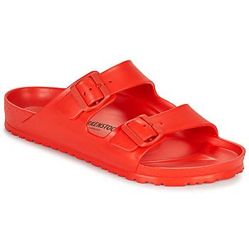 鞋子 男士 休闲凉拖/沙滩鞋 Birkenstock 勃肯 ARIZONA EVA 红色
