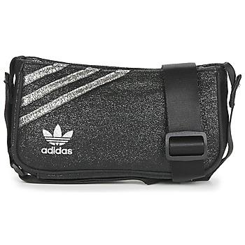 包 女士 肩背包 Adidas Originals 阿迪达斯三叶草 MINI AIRLINER 黑色