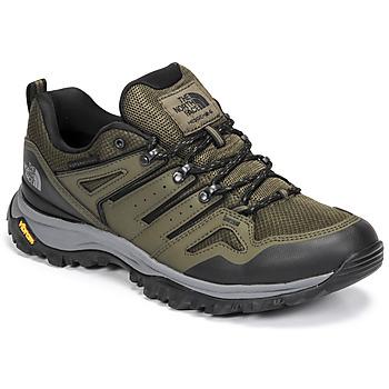 鞋子 男士 登山 The North Face 北面 HEDGEHOG FUTURELIGHT 灰褐色 / 绿色