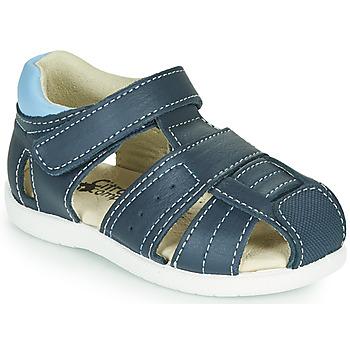 鞋子 男孩 凉鞋 Citrouille et Compagnie OLISS 蓝色