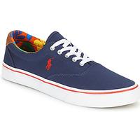 鞋子 男士 球鞋基本款 Polo Ralph Lauren THORTON-SNEAKERS-VULC 海蓝色