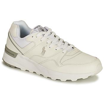 鞋子 男士 球鞋基本款 Polo Ralph Lauren TRCKSTR PONY-SNEAKERS-ATHLETIC SHOE 白色