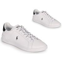 鞋子 球鞋基本款 Polo Ralph Lauren HRT CT II-SNEAKERS-ATHLETIC SHOE 白色 / 黑色