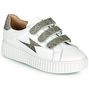 鞋子 女士 球鞋基本款 Vanessa Wu BK2231AN 白色 / 灰色