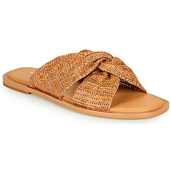 鞋子 女士 休闲凉拖/沙滩鞋 Vanessa Wu SD2223CM 棕色