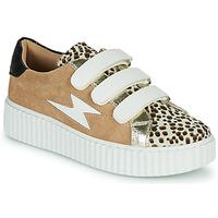 鞋子 女士 球鞋基本款 Vanessa Wu BK2206LP 米色 / Leopard