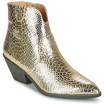 鞋子 女士 短靴 Vanessa Wu MINNA 金色