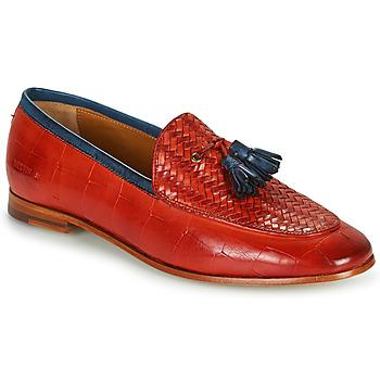 鞋子 女士 皮便鞋 Melvin & Hamilton SCARLETT 44 红色