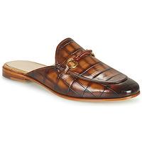 鞋子 女士 休闲凉拖/沙滩鞋 Melvin & Hamilton SCARLETT 4 棕色