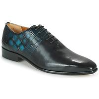 鞋子 男士 系带短筒靴 Melvin & Hamilton LANCE 61 黑色 / 蓝色