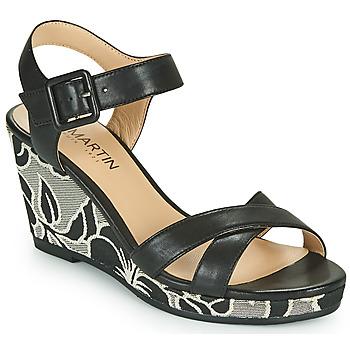 鞋子 女士 凉鞋 JB Martin QUERIDA 黑色 / 灰色