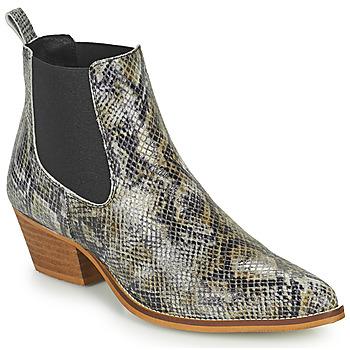鞋子 女士 短筒靴 Betty London OGEMMI 灰褐色