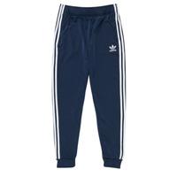 衣服 儿童 厚裤子 Adidas Originals 阿迪达斯三叶草 GN8454 蓝色