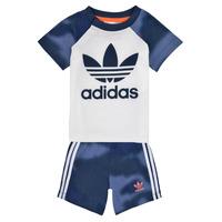 衣服 男孩 女士套装 Adidas Originals 阿迪达斯三叶草 GN4110 白色