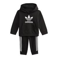 衣服 儿童 卫衣 Adidas Originals 阿迪达斯三叶草 DV2809 黑色