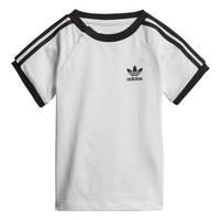 衣服 儿童 短袖体恤 Adidas Originals 阿迪达斯三叶草 DV2824 白色